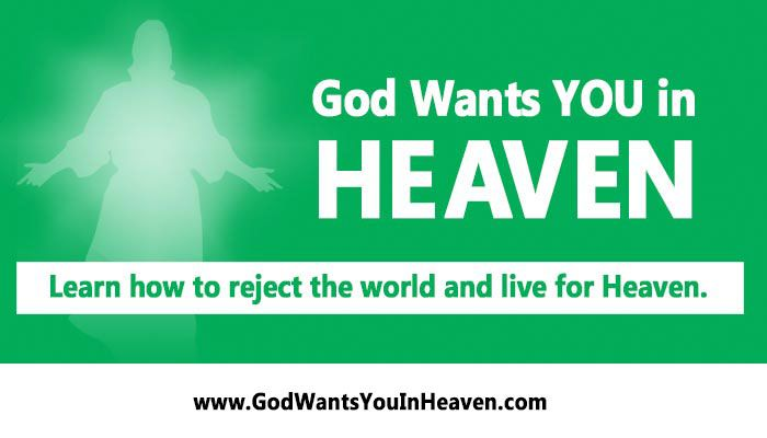 God Wants You in Heaven Series