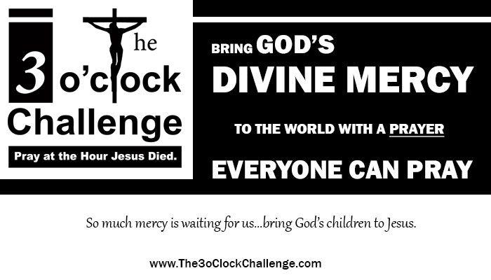 The 3 oclock Challenge